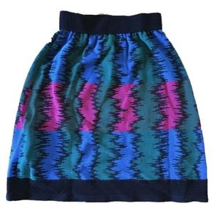 M Missoni Italy Ribbed Skirt Italy size 44